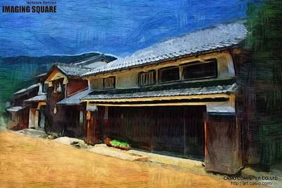熊川宿02(油彩).JPG